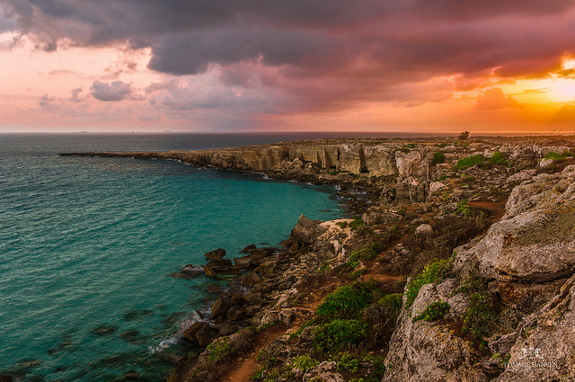 Sunrise at Favignana Island