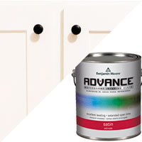 Benjamin moore 39 s advance waterborne interior alkyd paint archives the diy girl for Advance waterborne interior alkyd