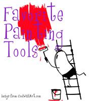 Favorite paint tools - The DIY Girl