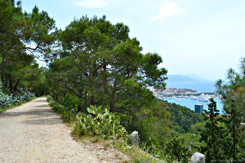 How to get to Marjan Hill,Split
