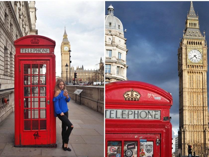 Best photo spots near Westminster, London