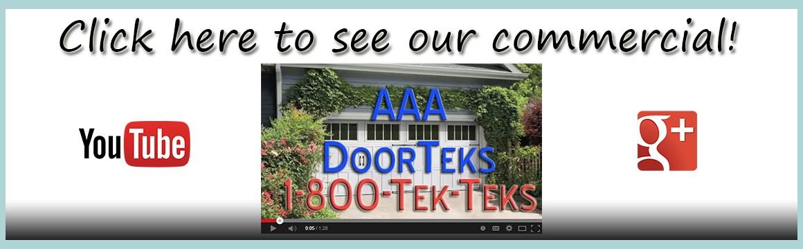 garage door repair commercial