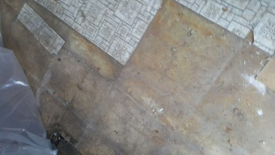 Images of asbestos flooring