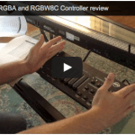 ADJ WiFly Bar RGBA and WiFly RGBW8C Review