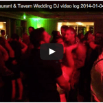 [Video Log] Waterfront Restaurant & Tavern LaCrosse WI Wedding DJ