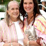 Brooke Shields and her Mom
