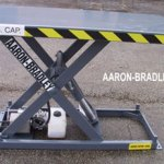 light duty low profile scissor lift