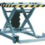 pneumatic lift rotating top scissor lift