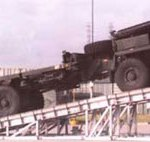 military vehicle service ramp