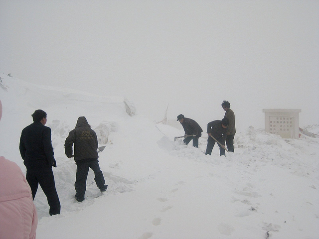 Digging Out the Road!