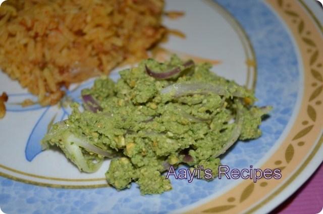 pudina-kanda chutney