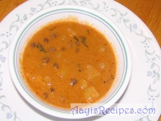 Chana in coconut masala(Chana ghashi)