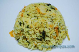 Methi-val rice