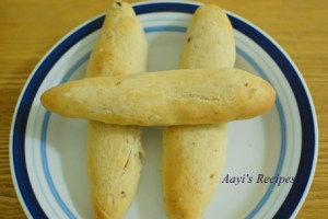 Garlic Herb Breadsticks
