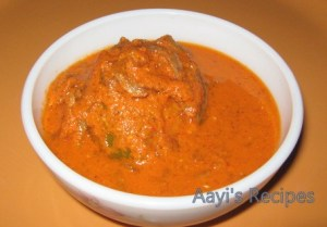 Dried Fish Gravy (Bhobshe / Dhandshe Ambat)