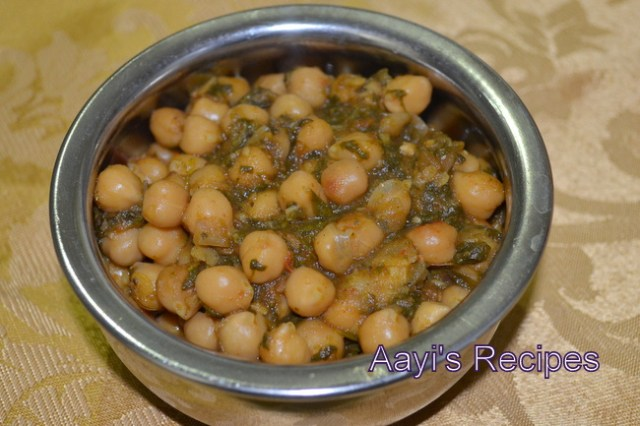 chole methi