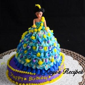 Blue Princess Cake