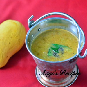 Mango Dal (With Fenugreek/Methi)