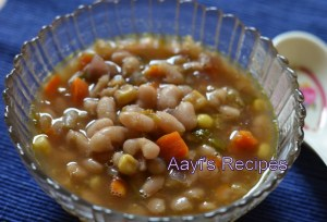 White bean Vegetable Chili