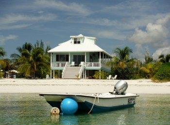 Calypso - on beautiful Casuarina Point beach in South Abaco, Bahamas