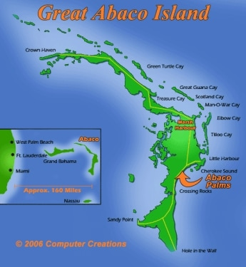Abaco Map