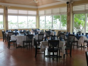 Another view of the main dining room