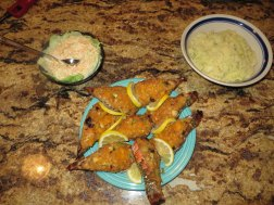 Stuffed Lobster Dinner for 4 - With Rumblie Thum and Coleslaw