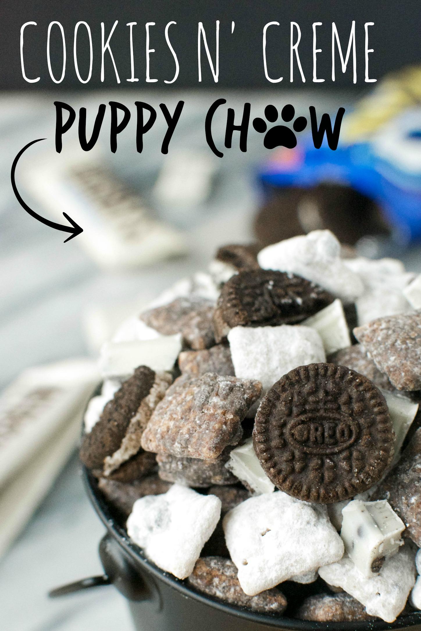 Cookies n Creme Puppy Chow A baJillian Recipes