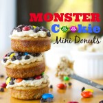 Monster Cookie Mini Donuts