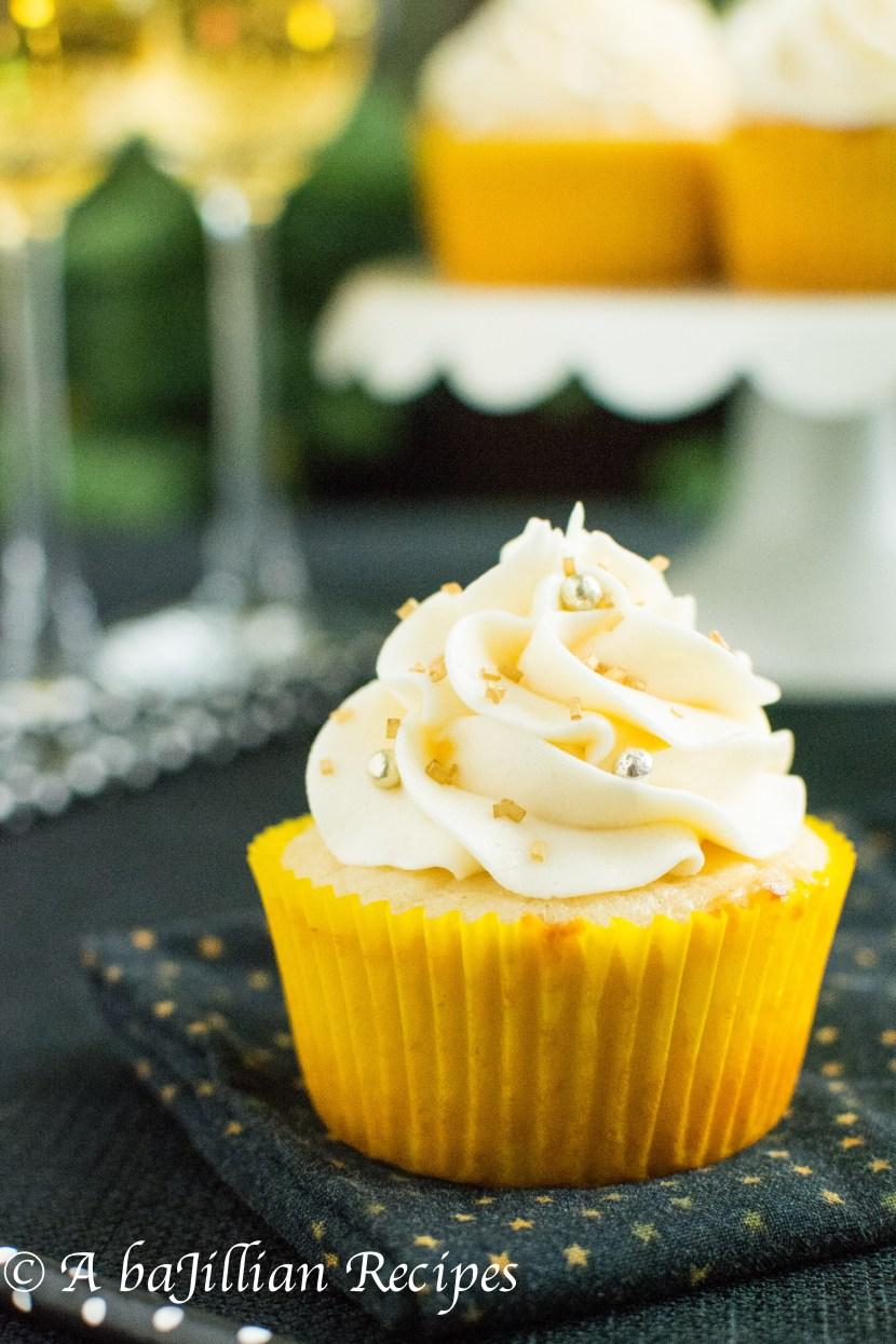 Sparkling Cider Cupcakes | A baJillian Recipes