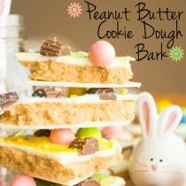 Peanut Butter Cookie Dough Bark   A baJillian Recipes