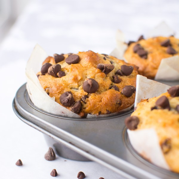 Jumbo Chocolate Chip Muffins