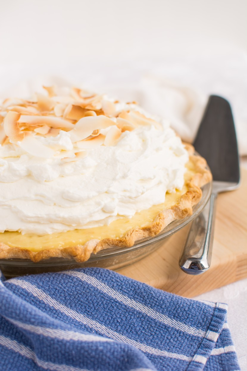 White Chocolate Coconut Cream Pie | A baJillian Recipes-4