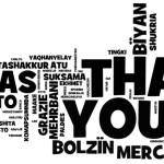Facebook e l'importanza di ringraziare