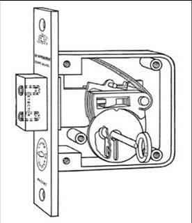 Multipoint Door Locks also US8292336 moreover Thread together with How To Change And Replace A Doorknob as well Elevator Safety System. on door latch mechanism diagram