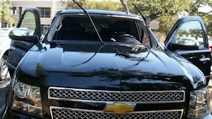 Chevrolet Tahoe Windshield Replacement   Abbey Rowe 2014 Chevrolet Tahoe Windshield Replacement 2
