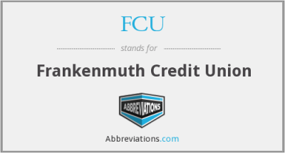 FCU - Frankenmuth Credit Union