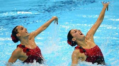 Sigue en directo la final de dúo de natación sincronizada - ABC.es