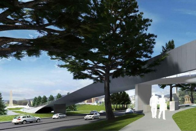 Tasman Highway Memorial Bridge, artist's impression