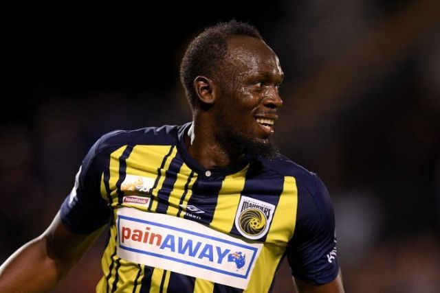 Usain Bolt of the Central Coast Mariners