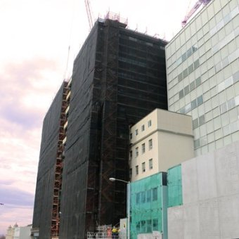 Royal Hobart Hospital construction