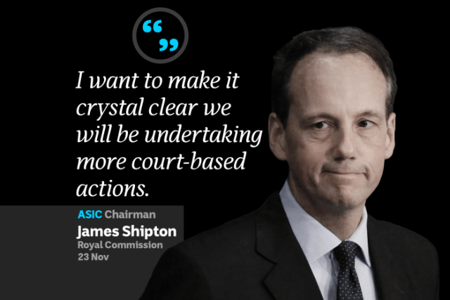 An image of James Shipton on a black background with a quote next to him