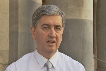 A headshot of Treasurer Rob Lucas.