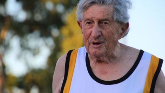 Cecil Walkley still in the running at the age of 88