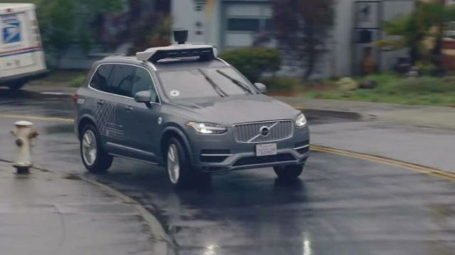 An Uber promotional video shows a modified Volvo XC90 similar to the one involved in the fatal crash in Arizona.