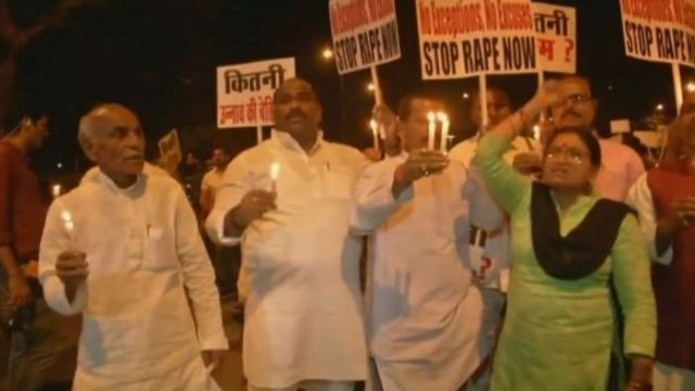 Outrage in India over brutal gang rape of eight-year-old girl