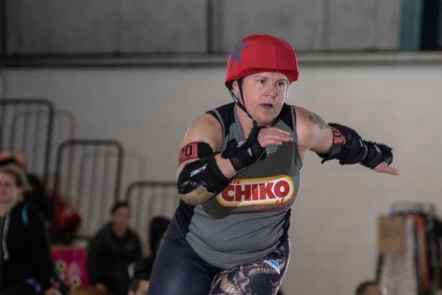 Library fine is this mother of two's roller derby name