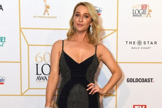 Asher Keddie at the 2018 Logie Awards