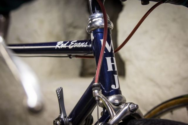 The  M.H. Jones bike made for Rod Evans