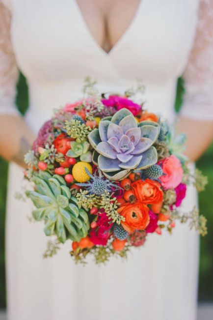 Summer Bridal Bouquets
